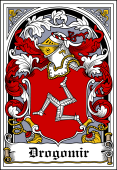 Polish Coat of Arms Bookplate for Drogomir