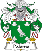 Spanish Coat of Arms for Palomo