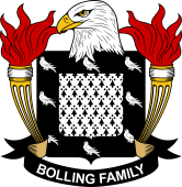 American Coat of Arms for Bolling