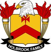 American Coat of Arms for Holbrook