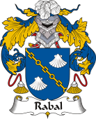 Spanish Coat of Arms for Rabal