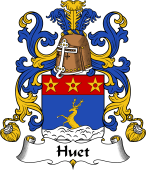 Coat of Arms from France for Huet