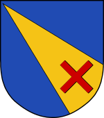 Dutch Coat of Arms shield for Campen (Van)