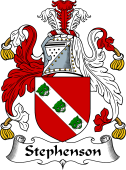 English Coat of Arms for Stephenson or Stevenson