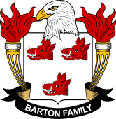 American Coat of Arms for Barton