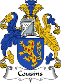 English Coat of Arms for Cousin (s) or Cosyn