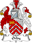 English Coat of Arms for Orby