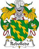 Spanish Coat of Arms for Rebolledo