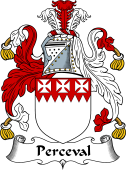 English Coat of Arms for Perceval