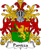 Italian Coat of Arms for Panizza