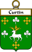 Irish Badge for Curtin or McCurtin
