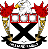 American Coat of Arms for Hilliard