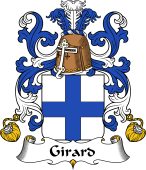 Coat of Arms from France for Girard