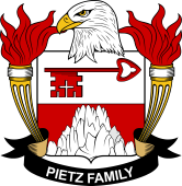 American Coat of Arms for Pietz