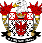 American Coat of Arms for Van Sittart