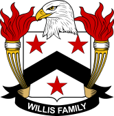 American Coat of Arms for Willis