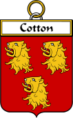 French Coat of Arms Badge for Cotton