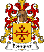 Coat of Arms from France for Bousquet