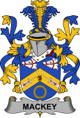 Irish Coat of Arms for Mackey