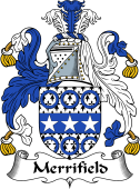 English Coat of Arms for Merrifield