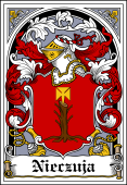 Polish Coat of Arms Bookplate for Nieczuja