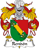 Spanish Coat of Arms for Rendón
