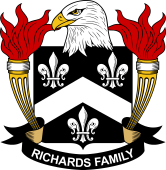 American Coat of Arms for Richards