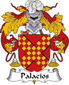 Spanish Coat of Arms for Palacios