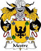 Portuguese Coat of Arms for Mestre