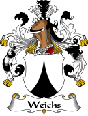 German Wappen Coat of Arms for Weichs