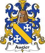 Coat of Arms from France for Augier