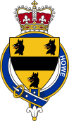 British Garter Coat of Arms for Howe (England)