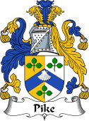 Irish Coat of Arms for Pike or Pyke