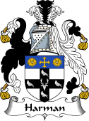 English Coat of Arms for Harman