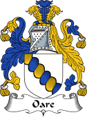 English Coat of Arms for Oare