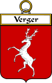 French Coat of Arms Badge for Verger