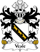 Welsh Coat of Arms for Veale (of St. Fagan's, Glamorganshire)