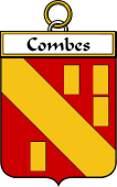 French Coat of Arms Badge for Combes