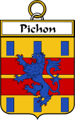 French Coat of Arms Badge for Pichon