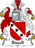 English Coat of Arms for Bissell