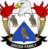 American Coat of Arms for Gross