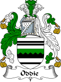 English Coat of Arms for Oddie or Oddy
