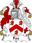 English Coat of Arms for Fox