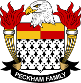 American Coat of Arms for Peckham
