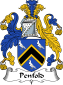 English Coat of Arms for Penfold
