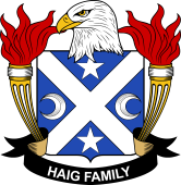 American Coat of Arms for Haig