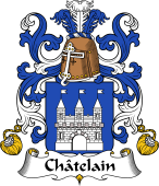 Coat of Arms from France for Châtelain