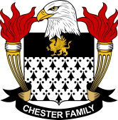 American Coat of Arms for Chester