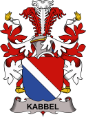 Danish Coat of Arms for Kabbel