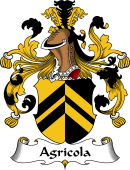 German Wappen Coat of Arms for Agricola